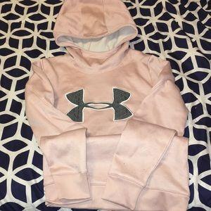 Under Armour Women's Medium Pink Sweatshirt